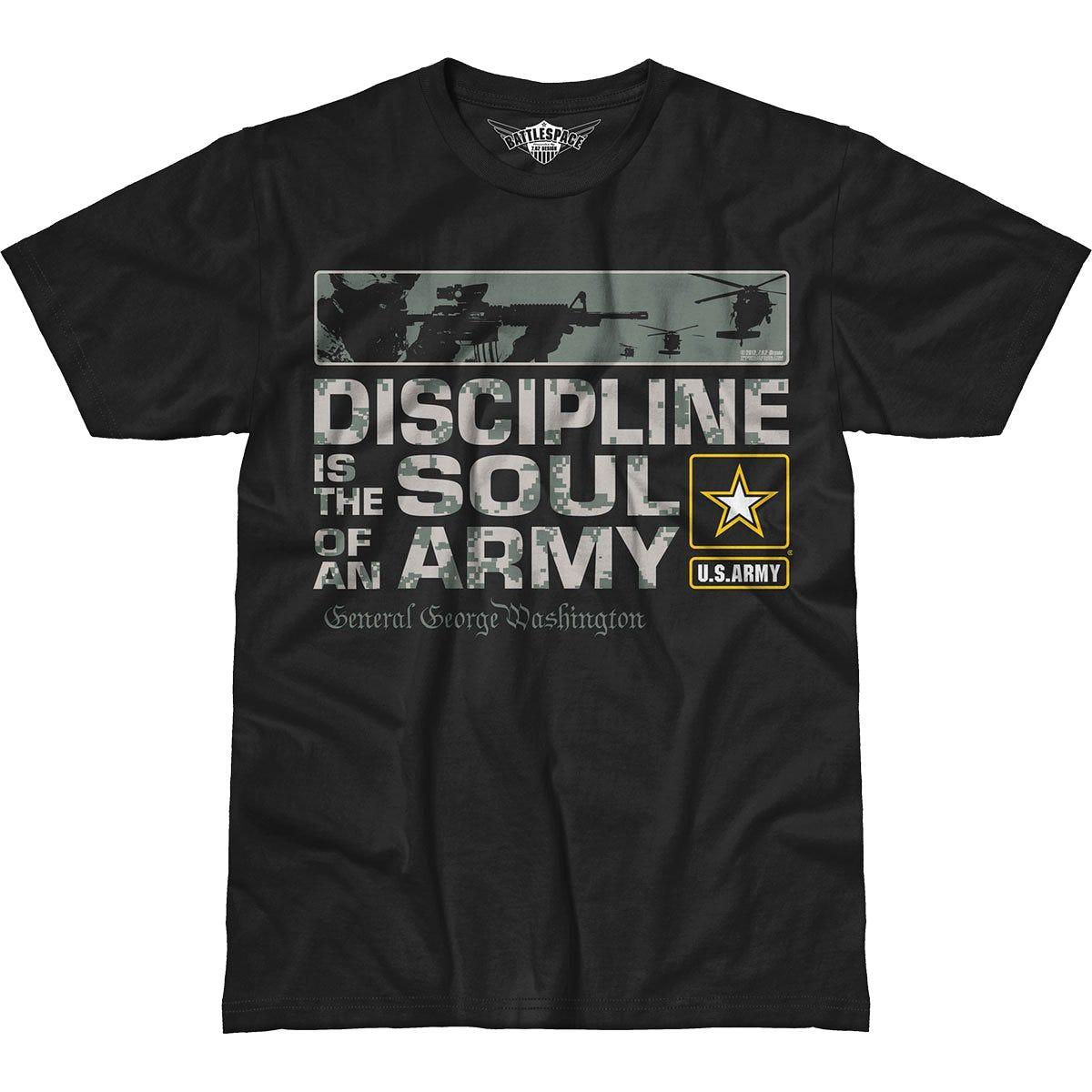 762 Design Army Discipline Battlespace T Shirt Black