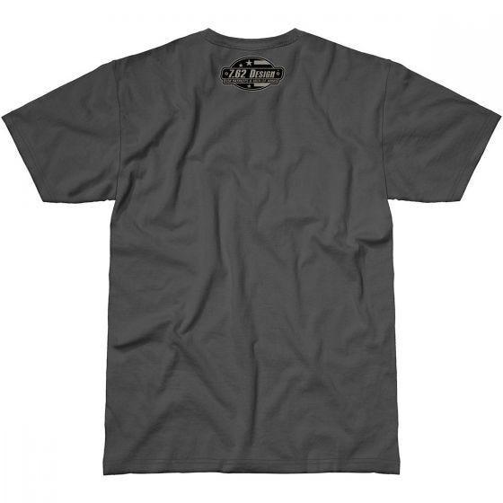 7.62 Design Fallen But Not Forgotten T-Shirt Charcoal