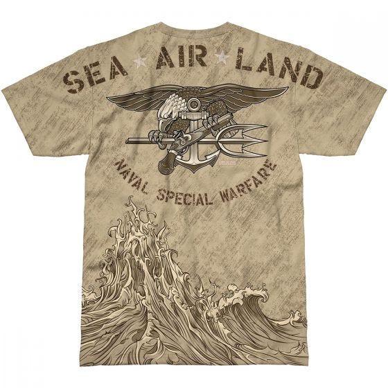 7.62 Design USN Seals Naval Special Warfare T-Shirt Sand
