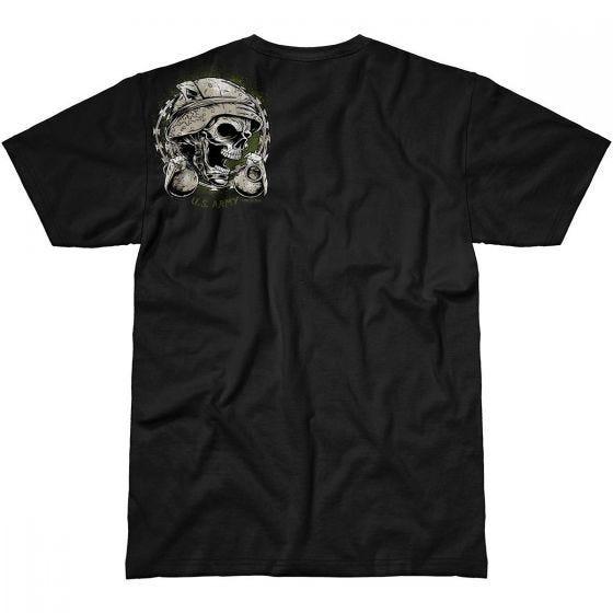 7.62 Design Army Never Accept Defeat T-Shirt Black