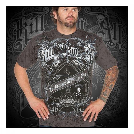 7.62 Design Kill Em All T-Shirt Charcoal