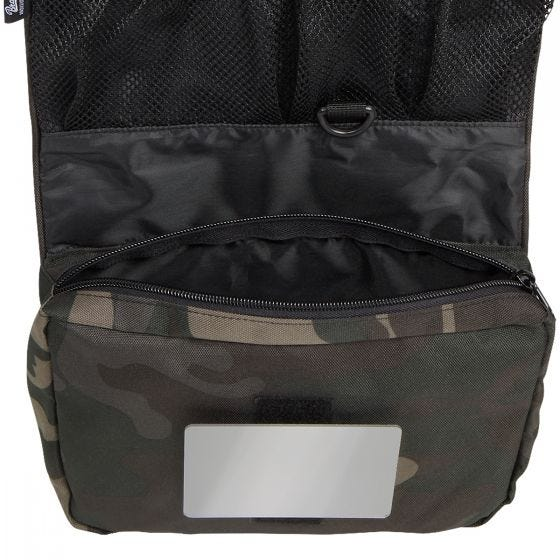 Brandit Toiletry Bag Large Dark Camo