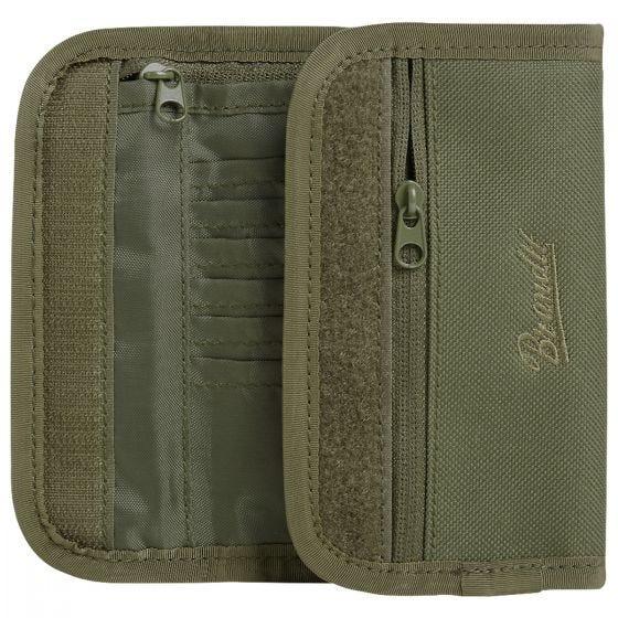 Brandit Wallet Two Olive