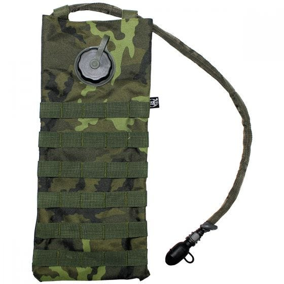 MFH Hydration Bladder and Carrier MOLLE Czech Woodland