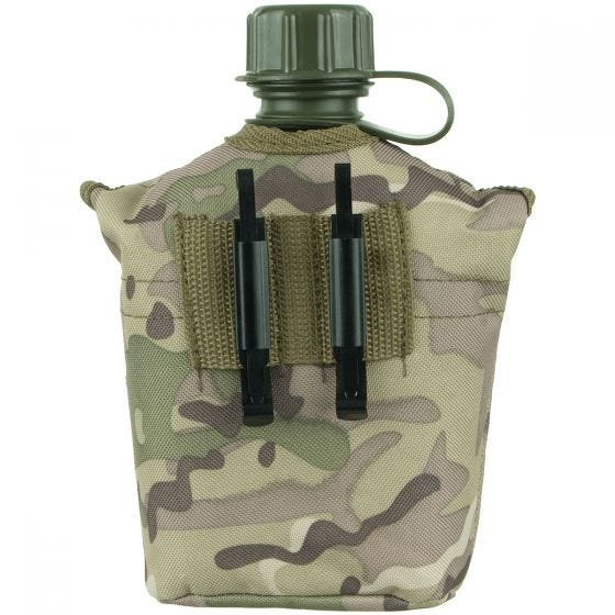 MFH US Style Canteen Operation Camo