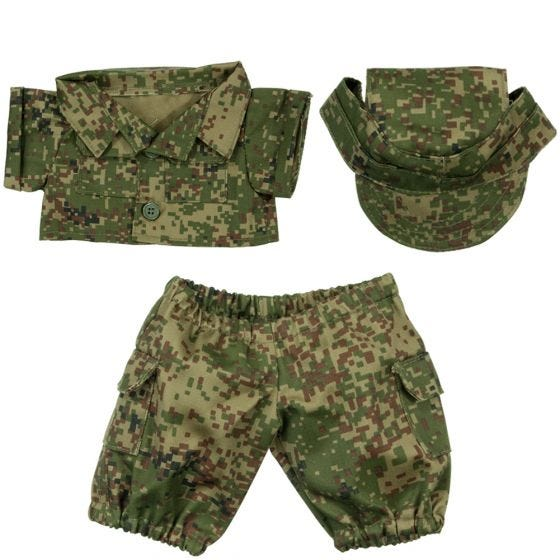 Mil-Tec Teddy Suit Small Digital Flora