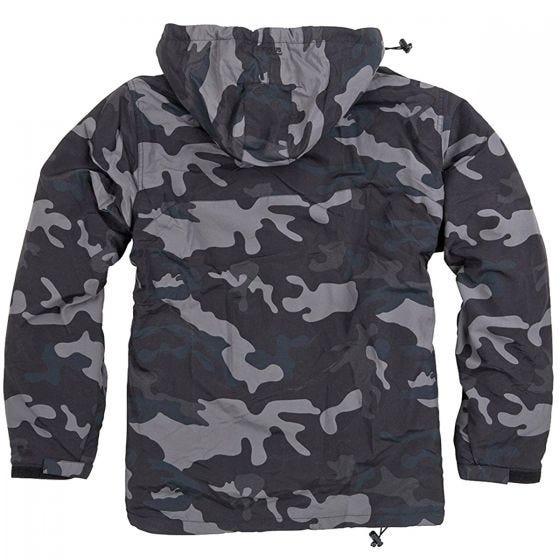 Surplus Windbreaker Jacket Black Camo