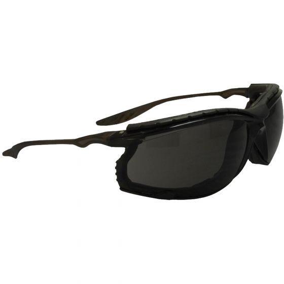 Swiss Eye Sunglasses Sandstorm Frame Black Lens Smoke