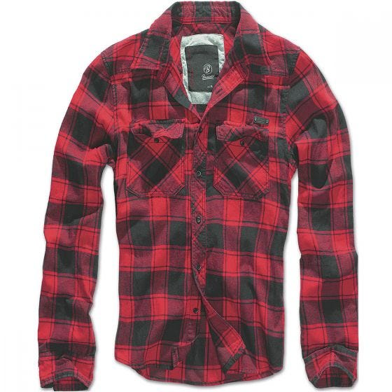 Brandit Check Shirt Red / Black