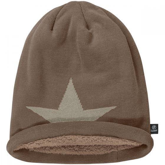 Brandit Beanie Star Cap Taupe