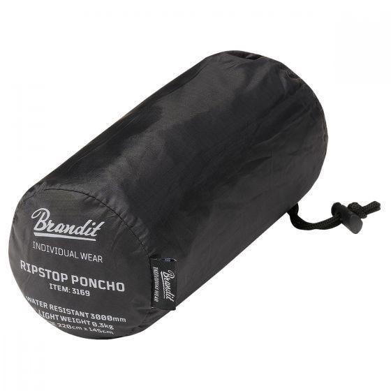 Brandit Ripstop Poncho Black
