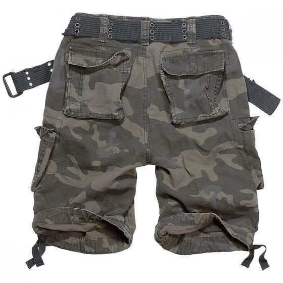 Brandit Savage Vintage Shorts Dark Camo
