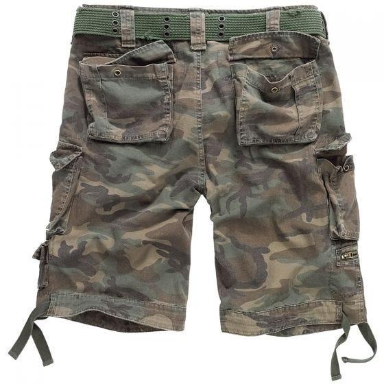 Brandit Savage Vintage Shorts Woodland