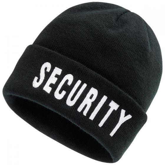 Brandit Security Beanie Black