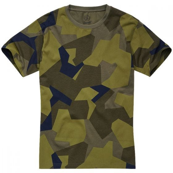 Brandit T-shirt Swedish Camo M90