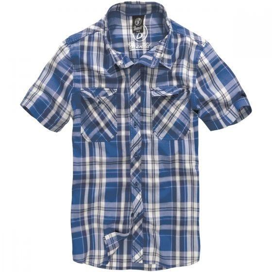 Brandit Roadstar Shirt Blue