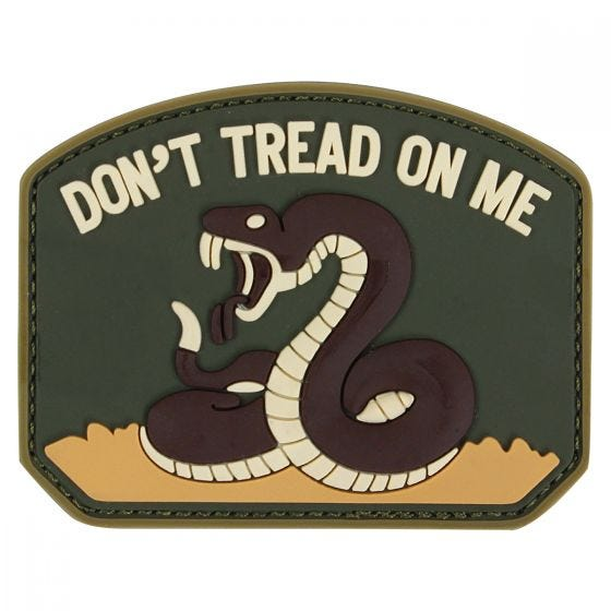 Condor Don't Tread On Me PVC Patch Olive Drab
