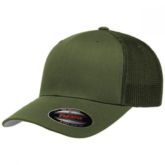 Flexfit Mesh Trucker Cap Buck