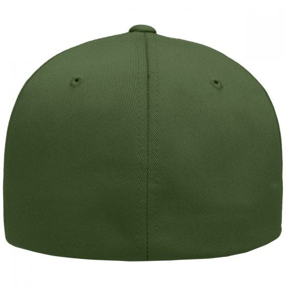 Flexfit Wooly Combed Cap Olive