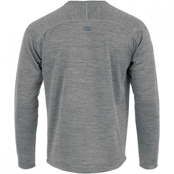 Highlander Crew Neck Sweater Cool Grey