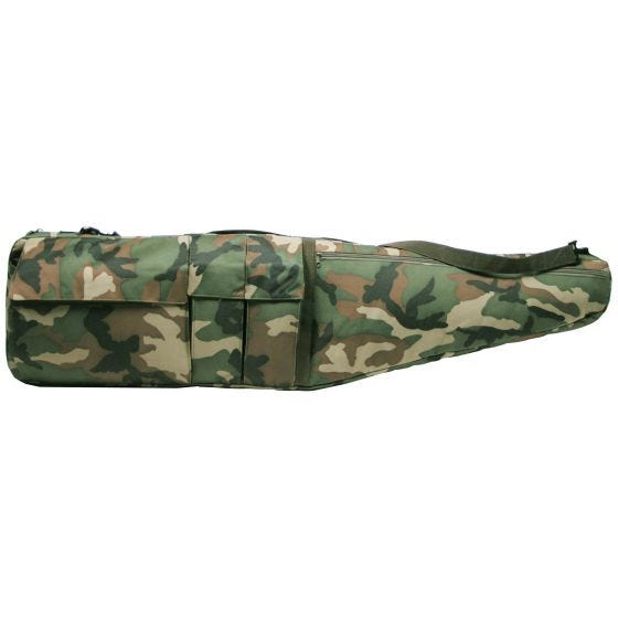 MFH Sniper Case / Rifle Bag Woodland Camo