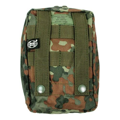 MFH Medical First Aid Kit Pouch MOLLE Flecktarn