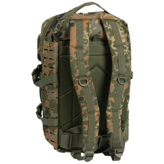 Mil-Tec US Assault Pack Large Laser Cut Flecktarn