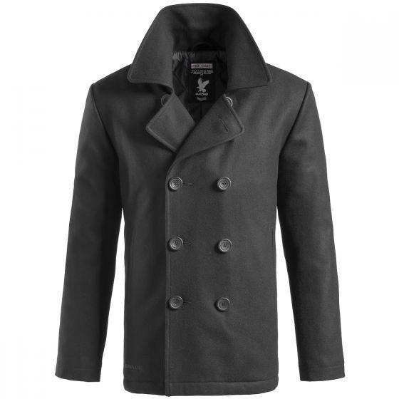 Surplus Pea Coat Black