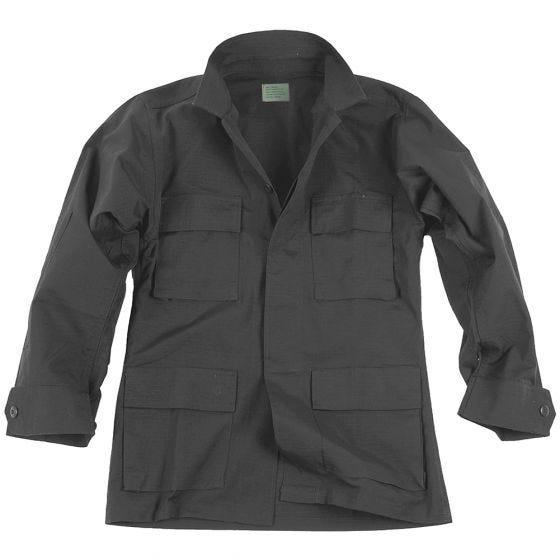 Teesar BDU Shirt Ripstop Black