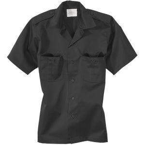 Surplus US Shirt Short Sleeve Black