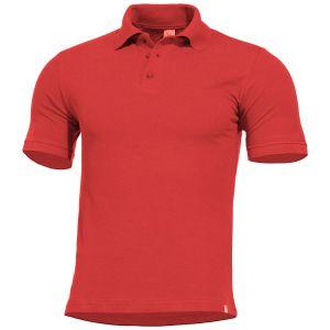 Pentagon Sierra Polo T-Shirt Red