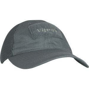 Viper Flexi-Fit Baseball Cap Titanium