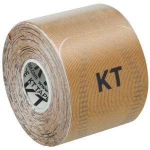 """KT Tape Consumer Synthetic Pro Precut 10"""" Stealth Beige"""