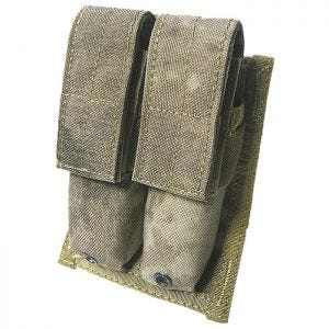Flyye Double 9mm Magazine Pouch MOLLE A-TACS AU