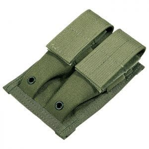 Flyye Double 9mm Magazine Pouch MOLLE Ranger Green