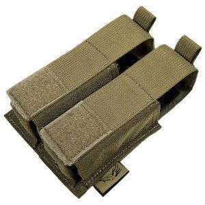Flyye Double 9mm Pistol Magazine Pouch Ver. HP MOLLE Coyote Brown