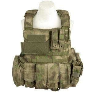 Flyye Force Recon Vest with Pouch Set ver. Land A-TACS FG