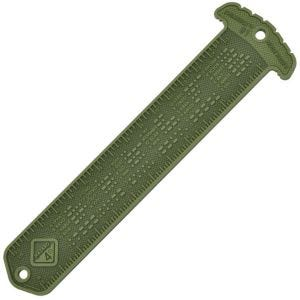 Hazard 4 Cheatstick #1 Ruler / Morse MOLLE Patch OD Green