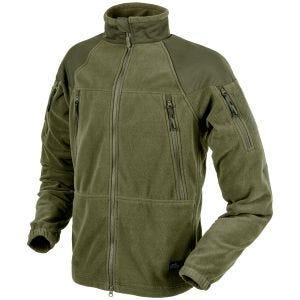 Helikon Stratus Heavy Fleece Jacket Olive Green