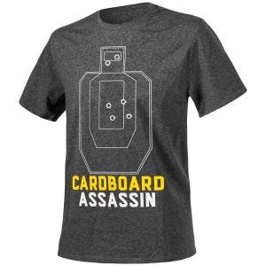 Helikon Cardboard Assassin T-shirt Melange Black-Grey