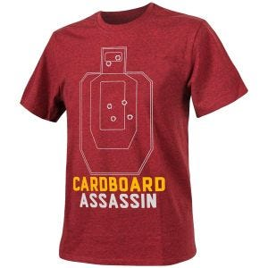 Helikon Cardboard Assassin T-shirt Melange Red
