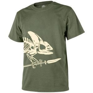 Helikon Full Body Skeleton T-shirt Olive Green