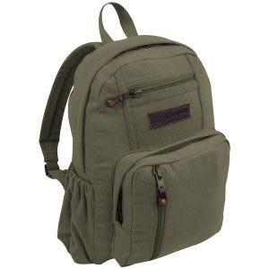 Highlander Salem Canvas 18L Backpack Olive