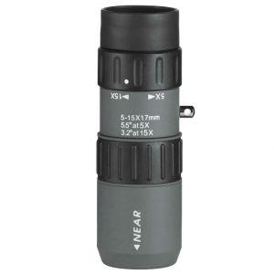 Luger MZ 5-15x17 Monocular Grey Black