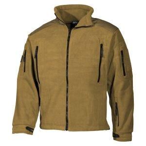 MFH Heavy Strike Fleece Jacket Coyote Tan