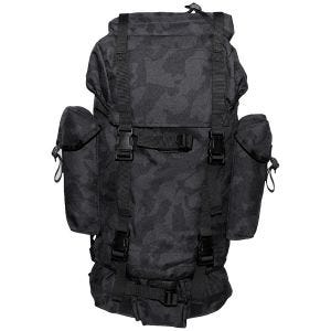 MFH German Army Rucksack 65L Night Camo