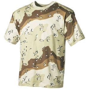 MFH T-shirt 6-Colour Desert