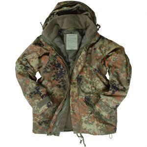 Mil-Tec ECWCS Jacket with Fleece Flecktarn