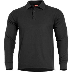 Pentagon Aniketos Polo Shirt Long Black