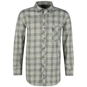 Propper Covert Button-Up Long Sleeve Shirt Loden Green Plaid